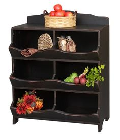 Incroyable Primitive Nesting Box Cabinet Cupboard Vegetable Bin Farmhouse Country  Storage