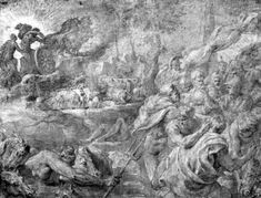 The Abduction of Bulls by @artistrubens #baroque