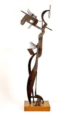 Mujer ante el espejo, de Julio González