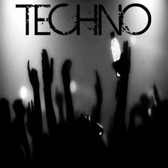 #techno #people #Rave #party