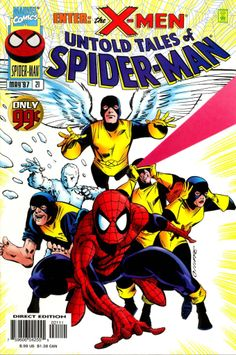 Spider-Man and the X-Men in Untold Tales of Spider-Man #21