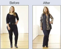 Minimize Your Hips: Pattern on top will help balance the body. Vertical lines keep eye moving and you appear taller and slimmer. www.monroeandmain.com