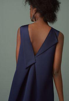 All New In : 029 whitmore dresses navy finery london 0791 Linen Dresses, Casual Dresses, Fashion Dresses, Ärmelloser Mantel, Fashion Details, Fashion Tips, Fashion Design, Fashion Ideas, Minimal Dress