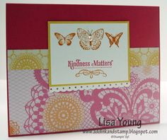 Add Ink and Stamp: Quick and Easy Kindness Matters