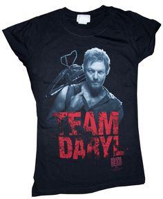 Walking Dead Merchandise | THE WALKING DEAD TEAM DARYL WOMAN'S/JUNIOR T-SHIRT