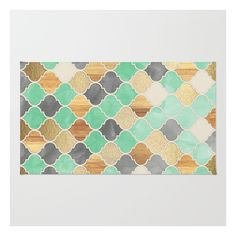 Charcoal, Mint, Wood & Gold Moroccan Pattern Rug ($28) ❤ liked on Polyvore featuring home, rugs, dark gray rug, chevron area rug, zig zag rug, dark grey area rug and weave rug