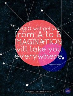 Imagination quote via www.Facebook.com/SkillShare