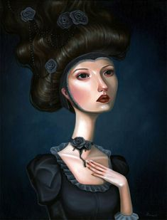 Surreal Paintings by Audrey Pongracz