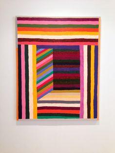 YUPYUP, colepierce: Matt Kleberg via gallery travels Motifs Textiles, Quilt Modernen, Pottery Painting Designs, Trash Art, Creative Textiles, Quilting Designs, Quilt Blocks, Fiber Art, Amazing Art