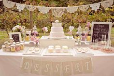 love this set up. Thinking about getting a smaller cake instead.
