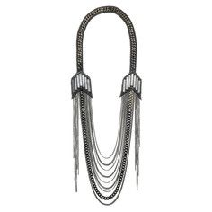 Brooklyn Necklace Oxidized, $275, now featured on Fab.