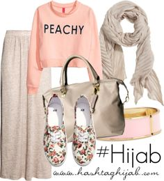 Hashtag Hijab Outfit Oh myyyy! Can i go to school like this? Hijab Casual, Hijab Outfit, Hijab Chic, Islamic Fashion, Muslim Fashion, Modest Fashion, Fashion Outfits, Modest Wear, Modest Outfits