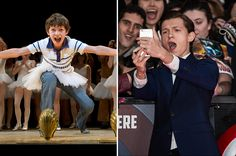 From Billy Elliot to Spider-Man: Child star Tom Holland in the year's biggest blockbuster Captain America: Civil War