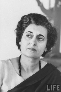 "When Indira Gandhi (no relation to Mohandas Karamchand Gandhi) was elected Prime Minister in 1966, a TIME cover line read, ""Troubled India in a Woman's Hands."" Those steady hands went on to steer India for nearly two decades through recession, famine, the nation's first atomic bomb, a corruption scandal and a civil war in neighboring Pakistan that, under her guidance, led to the creation of a new state, Bangladesh. She was assassinated in 1984"
