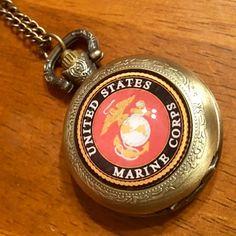 United States Marine Corps Pocket Watch