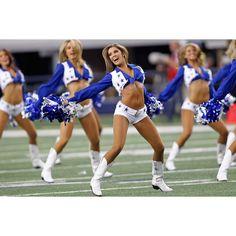 Dallas Cowboys Cheerleaders - Alyssa Torres ❤ liked on Polyvore featuring cheerleaders