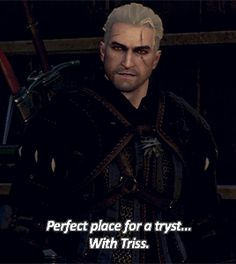 triss and geralt The Witcher Game, Triss Merigold, Geralt Of Rivia, Henry Cavill, Video Games, Gifs, Novels, Search, Books