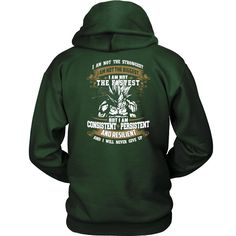Super Saiyan - I m Not The Strongest , I m Not The Biggest , I m Not The Fastest - Unisex Hoodie T Shirt - TL01281HO