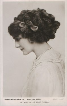 Edwardian hairtyles