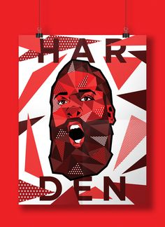 American artist Nick Bascus created this cool series of low-polygon illustrations and posters featuring some of the most talented NBA players in recent history.    More illustrations via Behance