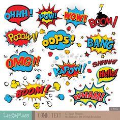 free superhero clipart   Fonts/Clipart freebies   Pinterest ...