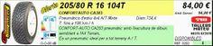 Tallers Mateu: 205/80 R 16 104T CONFORTAUTO CA203
