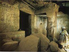 Temple de Mout de Napata. Djebel Barkal. Soudan.
