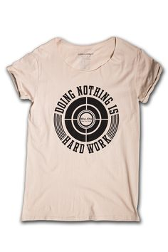 T-shirt SABBIA con grafica NERA | Mislang - Wear your slang
