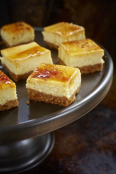 """This one came from the blog """"Handle The Heat"""" ( Everyone at Craig's place on sunday night loved them so I made another batch to photograph. Print Creme Brulee Cheese Cake Squares Author: Reci..."""