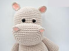 Mesmerizing Crochet an Amigurumi Rabbit Ideas. Lovely Crochet an Amigurumi Rabbit Ideas. Crochet Hippo, Crochet Animal Amigurumi, Crochet Teddy, Crochet Animal Patterns, Stuffed Animal Patterns, Crochet Blanket Patterns, Amigurumi Patterns, Free Crochet, Knitting Patterns