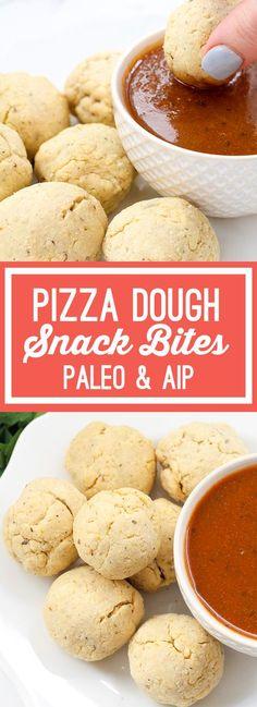 Paleo Pizza Dough Snack Bites (AIP)