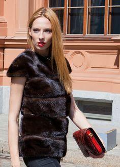 Elegant Mink Fur Vest http://leaganims.com/en/clothing/women/mink-fur-vest-s12-8
