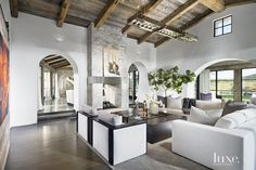 Charming Newport Beach Residence Blends Clean Lines with Reclaimed Materials | LuxeWorthy - Design Insight from the Editors of Luxe Interiors + Design