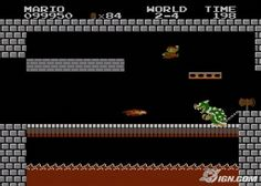 Super Mario Bros: The one that started it all.