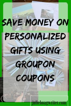 Save Money on Personalized Gifts using Groupon Coupons...Still looking for ideas for gifts AND want to save money doing it? Read my blog post because I have  great tips to share. #GrouponsCoupons #spon #ad