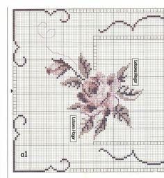 ru / Foto nº 4 - 7 - irisha-ira Cross Stitch Heart, Cross Stitch Borders, Cross Stitch Flowers, Modern Cross Stitch, Cross Stitch Designs, Cross Stitching, Cross Stitch Embroidery, Embroidery Patterns, Hand Embroidery