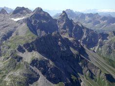 Lechtal - Mädelegabel vanaf Krottenkopf