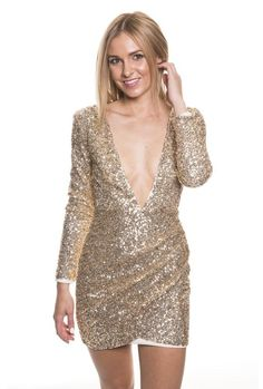Perfect for your next night out! True to size with slight stretch Model wears size 6 Dance Dresses, Sequin Dress, Online Boutiques, Night Out, Sequins, Formal Dresses, Pretty, Model, How To Wear