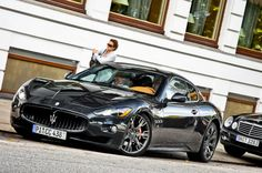 Maserati GranTurismo S. Now that is nice Maserati Granturismo S, Maserati Sports Car, Maserati Gt, My Dream Car, Dream Cars, Jaguar Xk, Car Manufacturers, Sport Cars, Autos