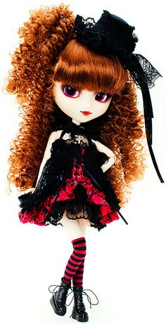 """Pullip Adsiltia H.NAOTO $108  Darkness and Brilliance!!! There is a harmony of brilliance and darkness which is attracting myself. I am listening the sound of the """"ebony"""" falling rain with my memory of groggy slumber .... Feel like so."""