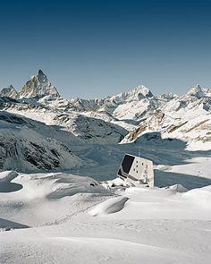 Monte Rosa Hut, Swiss Alps
