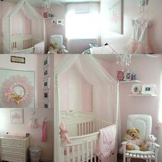 My baby girl's pink nursery