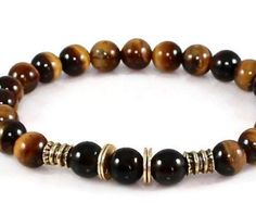 Items similar to Prosperity Men's Citrine, Onyx mala bracelet, healing Mala, Meditation bracelet, Reiki Charged, Success bracelet, wrist mala, mens bracelet on Etsy