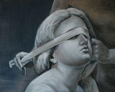 Temida Cyprian Nocon oil on canvas 40x50cm 2016
