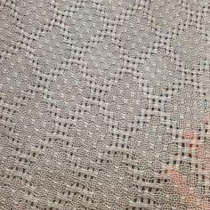 洗い後 #hucklace #weave #väv #なるほどこうなるのか