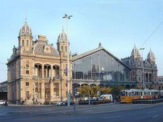 Gare de Budapest-Nyugati (Gare de l'ouest) (1875).