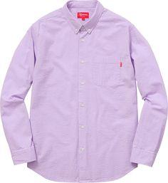 Tonal Seersucker Shirt