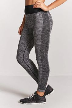 Product Name:Active Marled Knit Leggings, Category:Activewear, Price:14.9