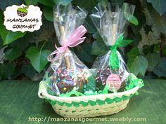 Canasta con 2 Manzanas Gourmet - Especial PASCUA