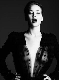 Jennifer Lawrence, by Ben Hassett for Harper's Bazar